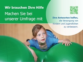 Plakat Umfrage Kinderrheumatologie Ausschnitt